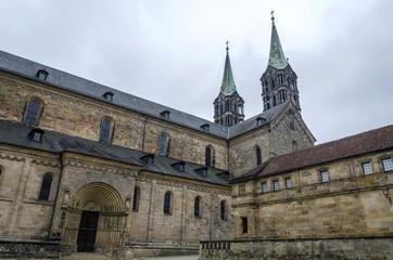 Bamberg Cathedral of St. Peter and St. George or Kaiserdom, Bamberg, Bavaria, Germany