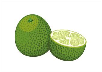 lime, fresh fruit