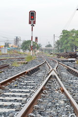 Frog and signal  : The State Railway of Thailand is the state-owned rail operator in Thailand.