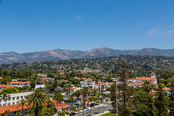 Mountains Beyond Santa Barbara