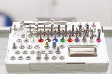 Tools for dental prosthetist