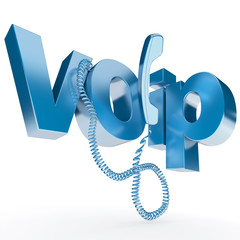 Call VOIP in blue
