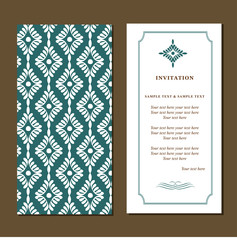 Invitation card for wedding, birthday and other holiday