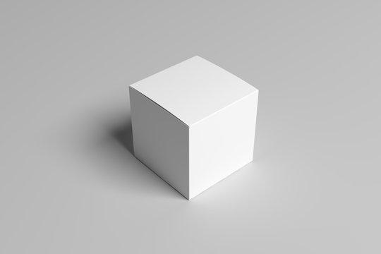 White box packing Mock-up