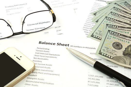 Balance sheet money