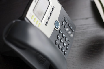 Contact number - Office phone on desk
