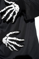 skeleton hands