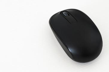 Mouse em um fundo branco