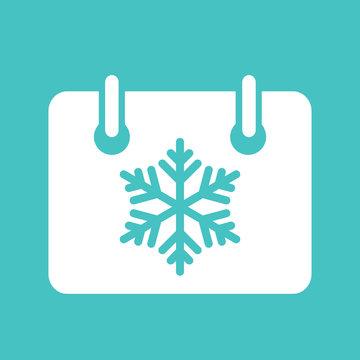 calendar calender winter holiday christmas xmas simple icon