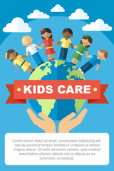Kids care poster