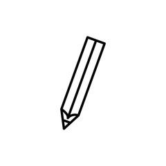 Pencil icon. Vector illustration