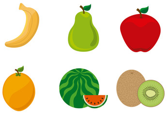 9 Assorted Fruit Icons