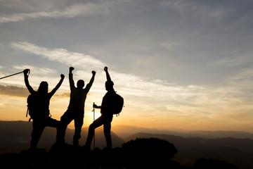 birlikte başarmak & azimli dağcıların başarısı