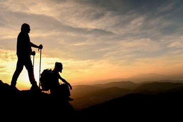 zirvedeki dağcılar
