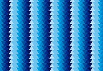 Blue Polygonal Pattern
