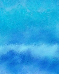 blue textured background, abstract water and sky concept