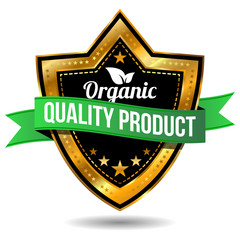 Organic Quality Product Label