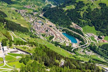Airolo am Fuss des St. Gotthard