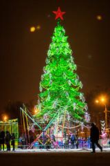 Christmas lights, illumination
