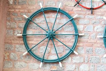 Sailboat Rudder on Wall