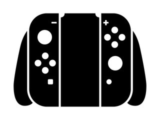 Home / portable video game controller flat icon for gaming apps and websites