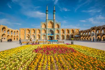 Complexe Amir Chakhmaq à Shiraz (Iran)