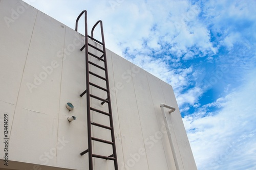 Quot Old Vertical Industrial Metal Rusted Ladder Staircase To
