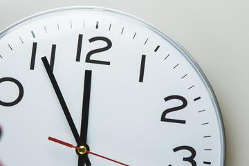 Fünf Minuten vor Zwölf Uhr