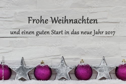 frohe weihnachten und ein gutes neues jahr stock photo. Black Bedroom Furniture Sets. Home Design Ideas