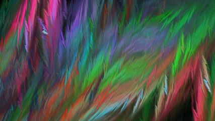 Farbiger Hintergrund mit Struktur wie Federn