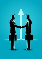 Business Deal Concept Illustration