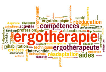 ergothérapie (ergothérapeute)