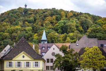 Der Schlossberg in Freiburg im Breisgau