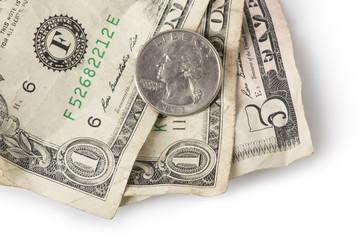 Minimum Wage - Quarter on top