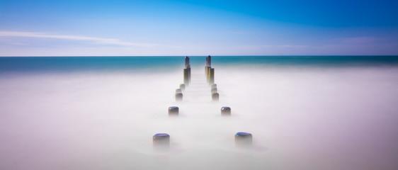 Calm relaxing ocean