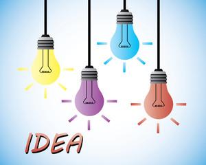 hanging bright idea
