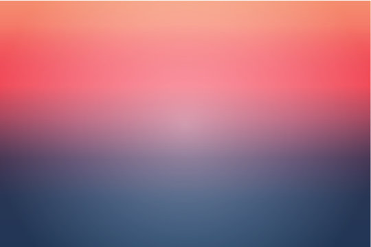 Simple sunset gradients abstract vector for background