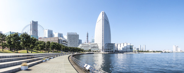 横浜みなとみらい ヨコハマ グランド インターコンチネンタルホテルと横浜港