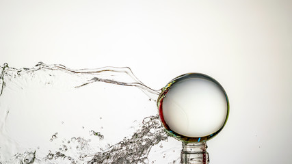 Crystal Ball Water Spalsh - Motion Capture