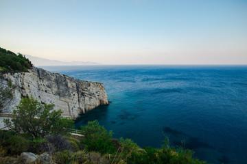 Costline at ionian sea