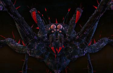 Poisonous spider.