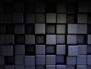 Abstract 3d cubes technology background
