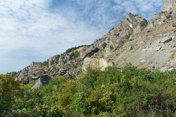 South Mountain Demerdzhi. Crimea.