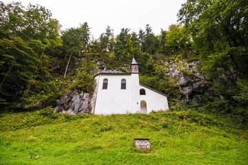 Falkensteinkirche (Falkenstein church) an ancient piligrim church of Our Lady and St. Wolfgang, Austria