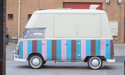 old van to serve food