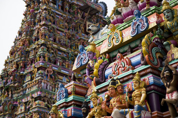 Details of indian Kapaleeswarar temple , Chennai, India