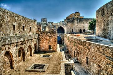 Panorama of Citadel of Raymond de Saint-Gilles in Tripoli, Lebanon