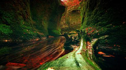 Zielona dolina, Szkocja