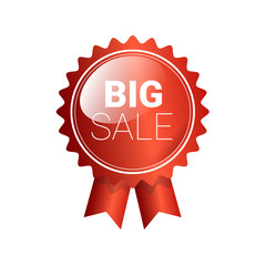 Special Offer Discount Sale Shopping Banner Flat Vector Illustration