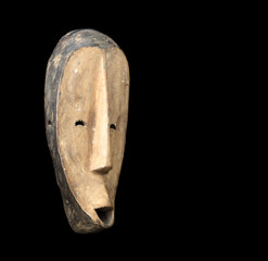 african forest spirit mask